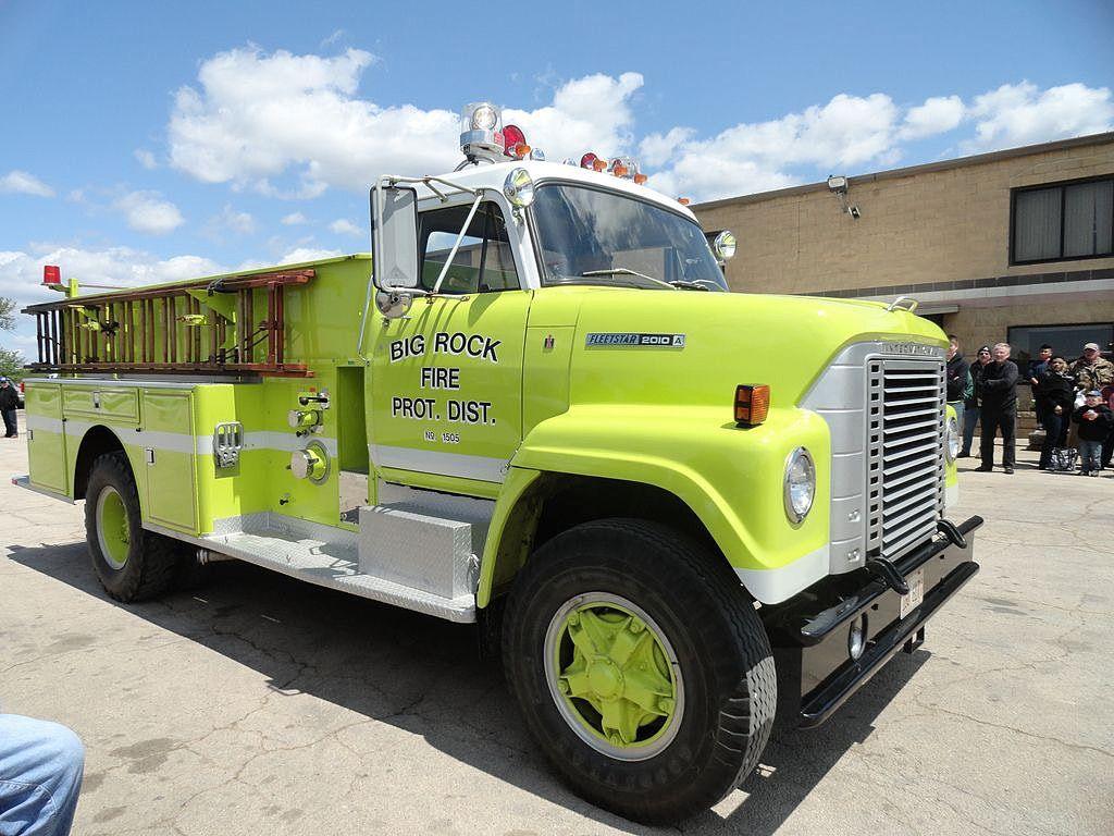 Big Rock Fire Protection District, 2nd Street, Big Rock