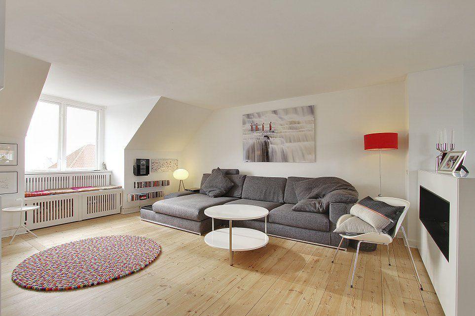 Luminous 3 Bedroom Apartment Flaunting Modern Scandinavian Style