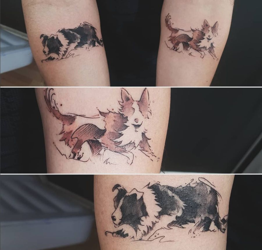 The 100 Best Dog Tattoos Of All Time Dog Tattoos Best Tattoo