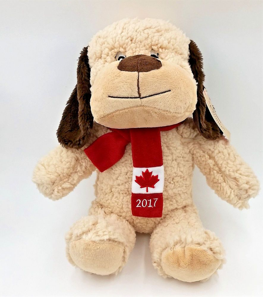Petsmart Chance Canada Dog 2017 Collectible Plush Pet Toy Puppy Dog Doll 16 New Petsmart Pet Toys Dog Doll Collectable Plush