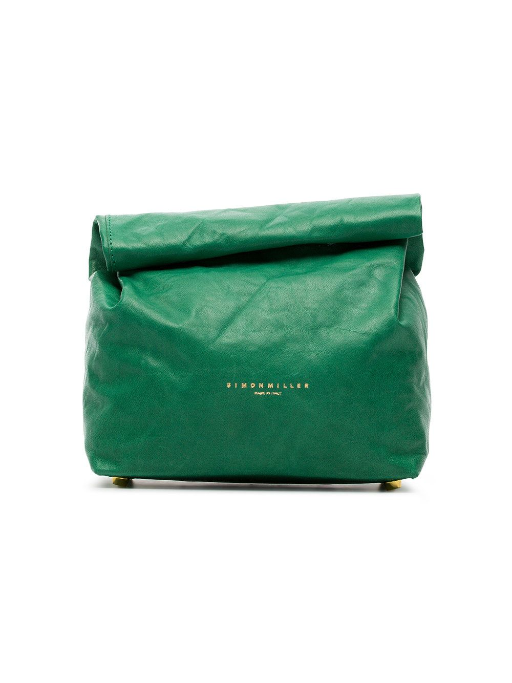 Fast Shipping Simon Miller green Lunchbox 20 leather clutch Buy Cheap Original Original For Sale nvfHV