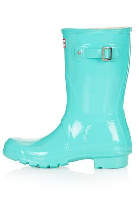Short Gloss Wellies For Ashley! <3