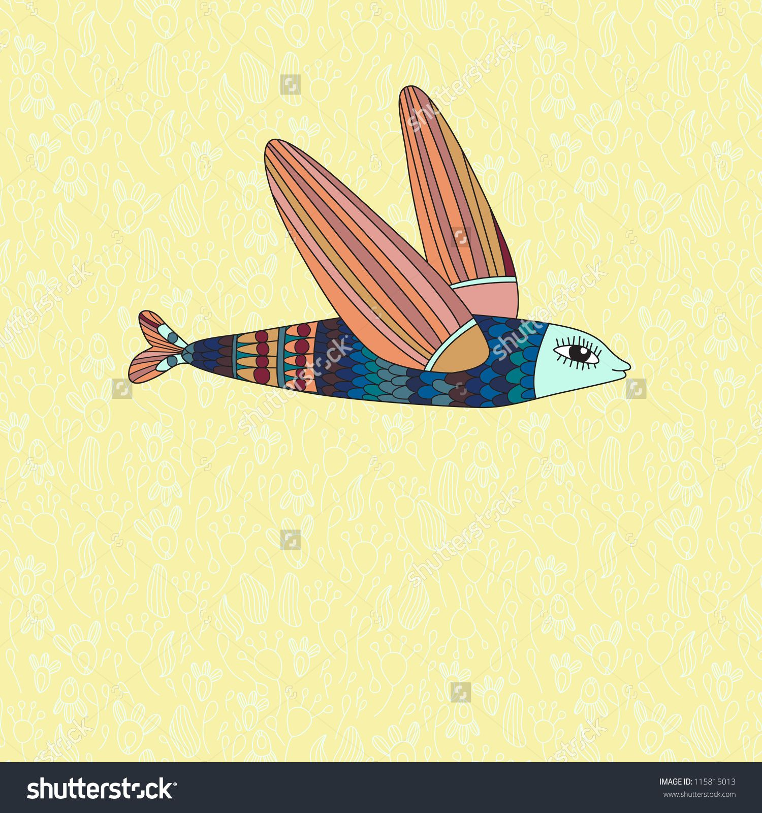 http://image.shutterstock.com/z/stock-vector-illustration-with-flying-fish-vector-115815013.jpg