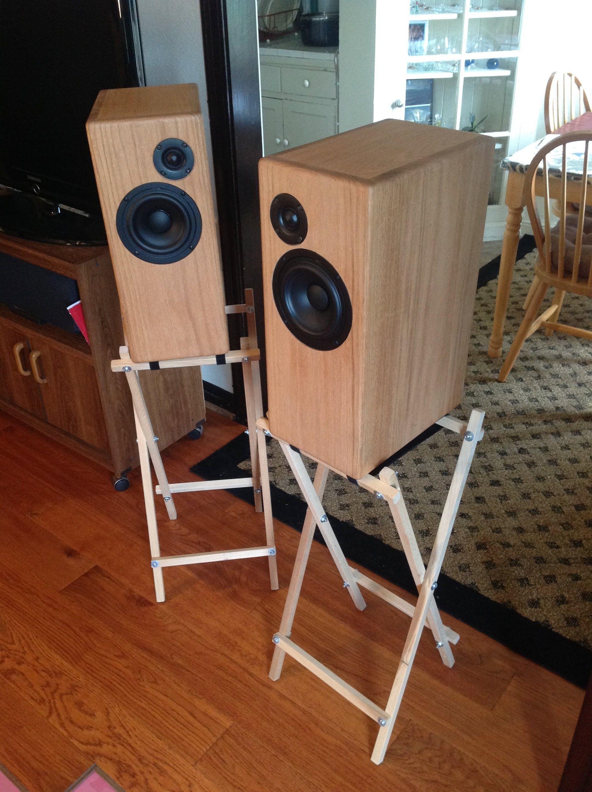 My speaker build Bookshelves diy, Built in speakers, Speaker