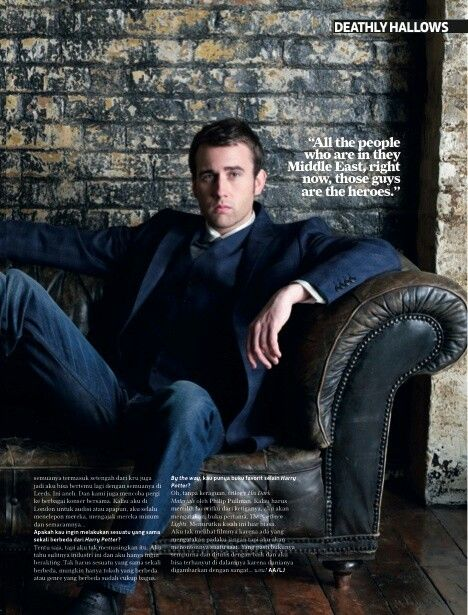 Total Film Magz ~ Matthew Lewis
