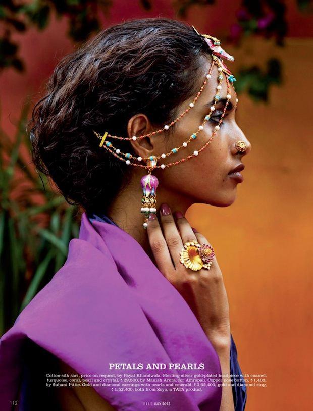 Photo of Elle India Editorial by Tarun Vishwa | Couture Rani