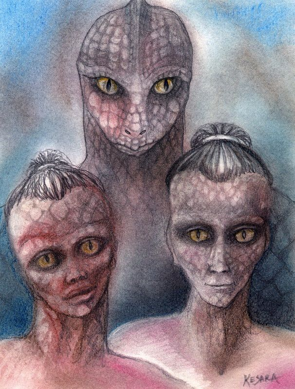 Secrets and Conspiracies: Too many myths, legends and ...  Real Reptilian Hybrids