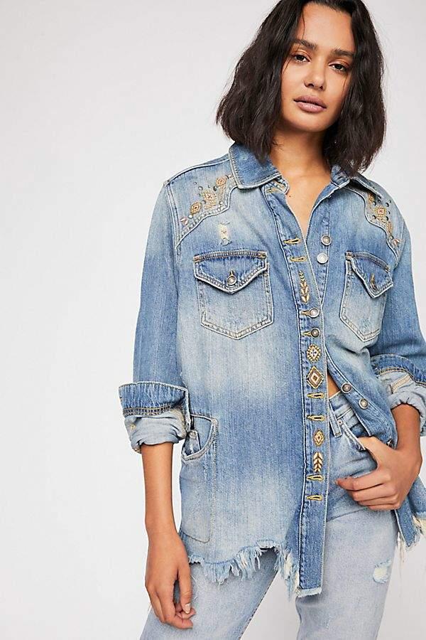 91d5674b29 Moonchild Shirt Jacket