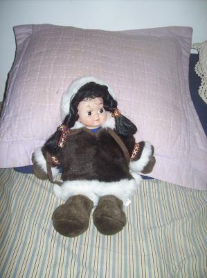 Eskimo Doll (free shipping)
