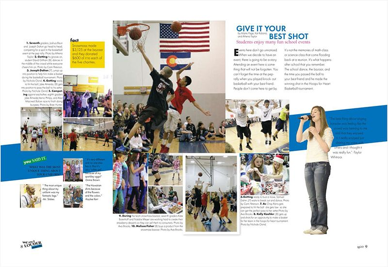 student life spread from sierra ms from the judge good use of