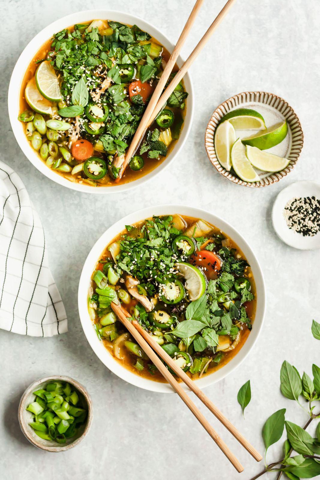 Nourishing Asian Chicken Soup
