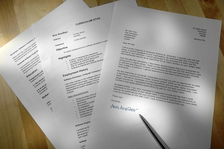 Review Resumes and Cover Letters for Job Applications