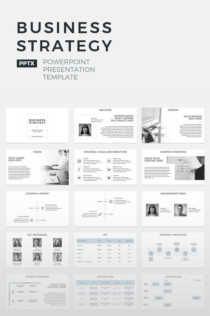 Business Strategy PowerPoint Template PowerPoint