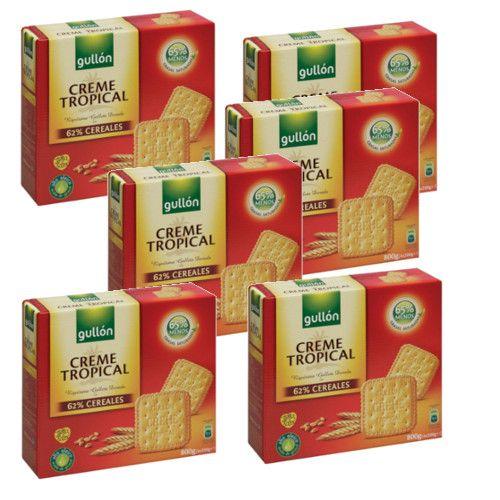 Biscuit Crème Tropicale 800 Grs - Gullon - Lot 6