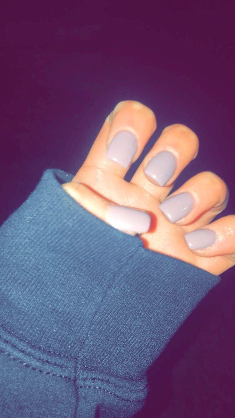Winter Colors Acrylic Nails Acrylicnailsshort In 2020 Squoval Nails Short Acrylic Nails Split Nails