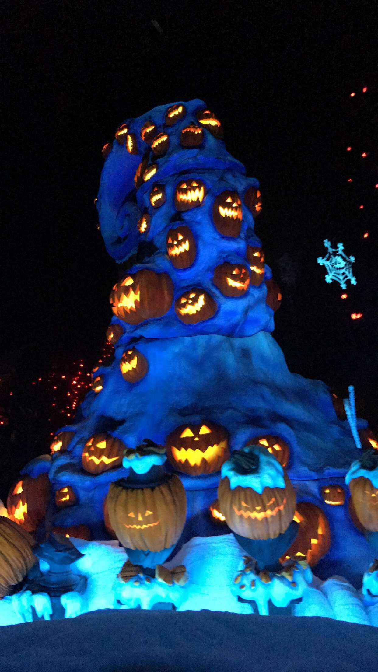 Disneyland.  The Haunted Mansion.  The Nightmare Before Christmas