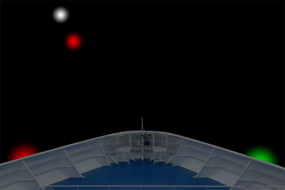 Which Side Of A Boat Has A Red Light At Night?