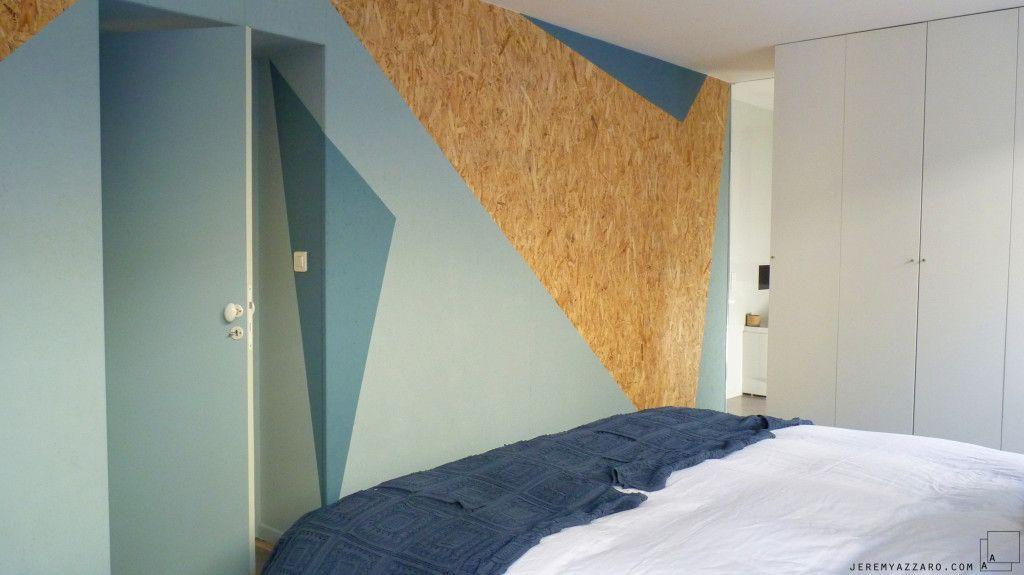 am nagement suite parentale avec graphisme osb am nagement int rieur et mobilier le. Black Bedroom Furniture Sets. Home Design Ideas