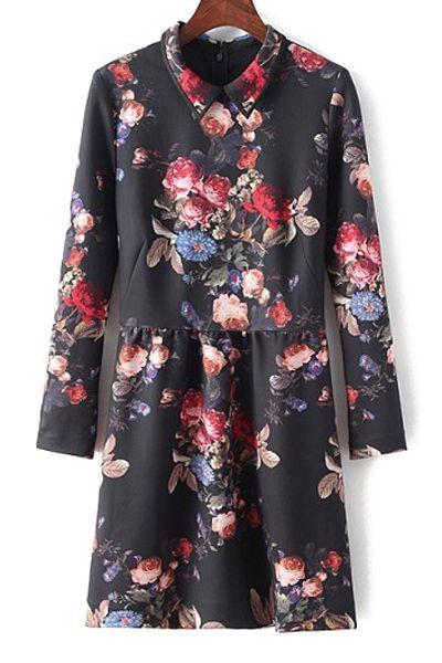 Floral Dress   Zaful