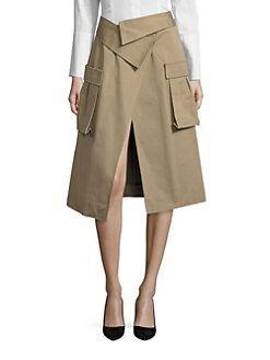 Monse - Cargo Wrap Skirt