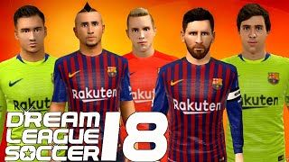 dc85c6e7230 Get the URL to download and import Dream League Soccer Kits 2018-19 and  512x512 logos of Barcelona