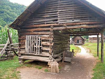 Tennessee Cabin | Cades Cove Log Outbuilding Maryville Tennessee Log Cabin  Go To | Log Cabins | Pinterest | Cades Cove, Cove F.C. And Building