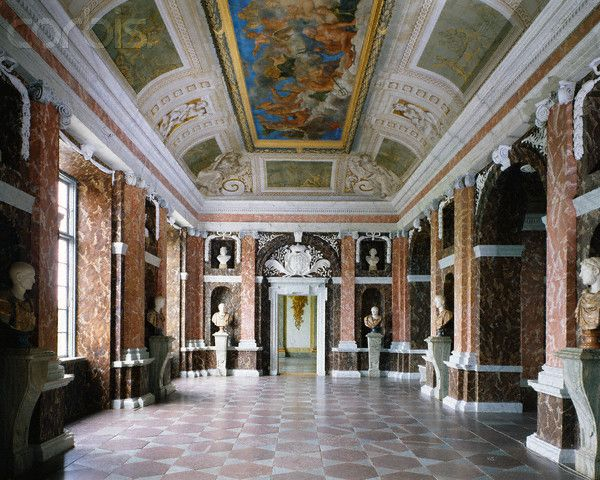 interior of drottningholm palace sweden castles and