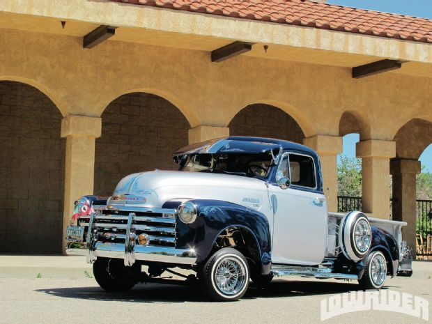 Check Out This Lowrider 1951 Chevrolet 3100 Pickup With Images