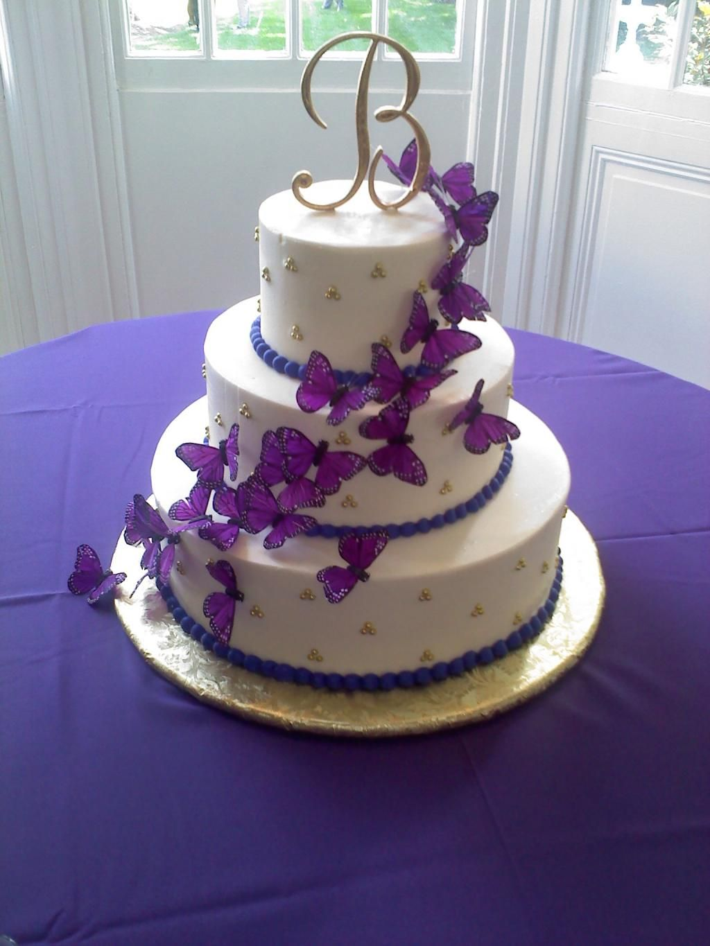 Would Make An Excellent 40th Birthday Cake Purple In