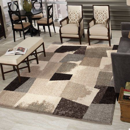 Buy Orian Rugs Plush Abstract Ralston Area Rug At Walmart.com