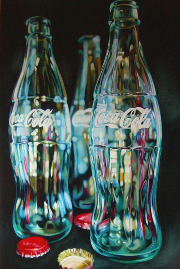 The Classic Glass Coke Bottles 3 Coke Bottle Photo Ideas