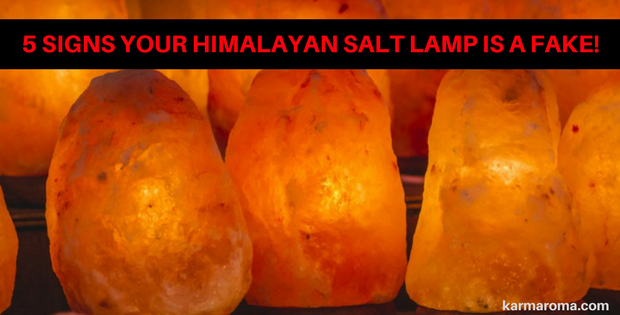 7 Warning Signs Your Salt Lamp Is An Imposter In 2020 Himalayan