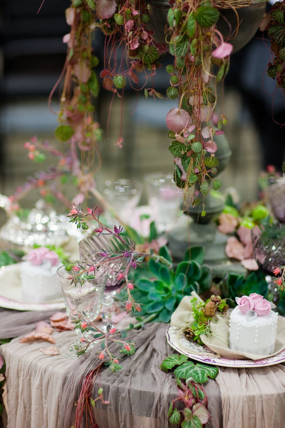 Natural table decoration at New Covent Garden Flower market | Flores ...