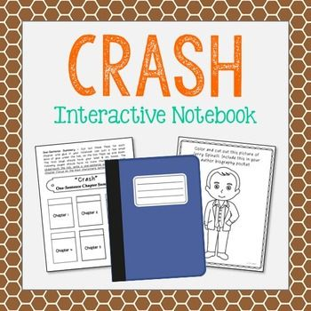 CRASH By Jerry Spinelli Novel Study Unit Activities In 2