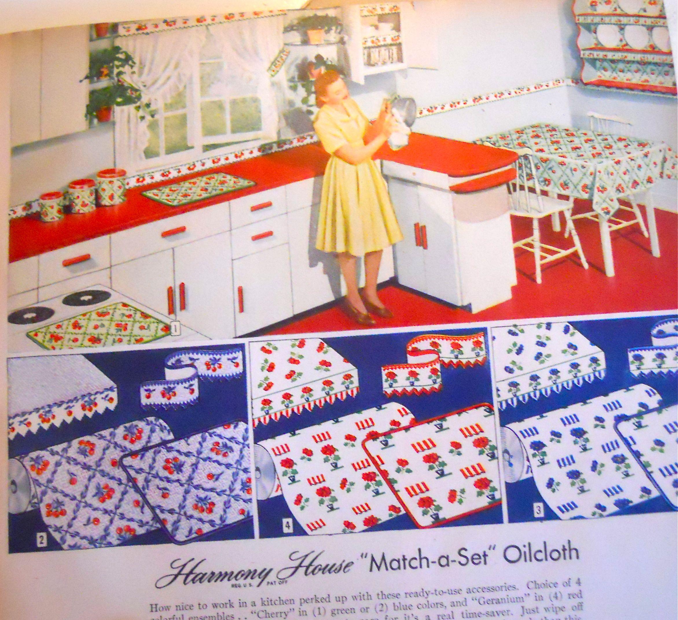 Kitchen Decor Catalogs: 1944 Kitchen, Sears Catalog