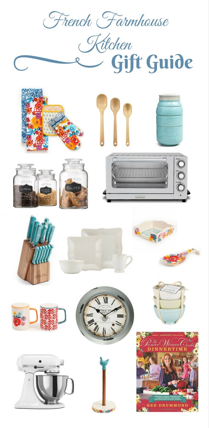 French Farmhouse Kitchen Gift Guide by Life on Summerhill The ...