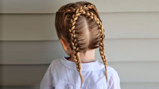 coiffure enfant anti noeud les tresses indiennes crois es coiffure enfant les tresses et. Black Bedroom Furniture Sets. Home Design Ideas
