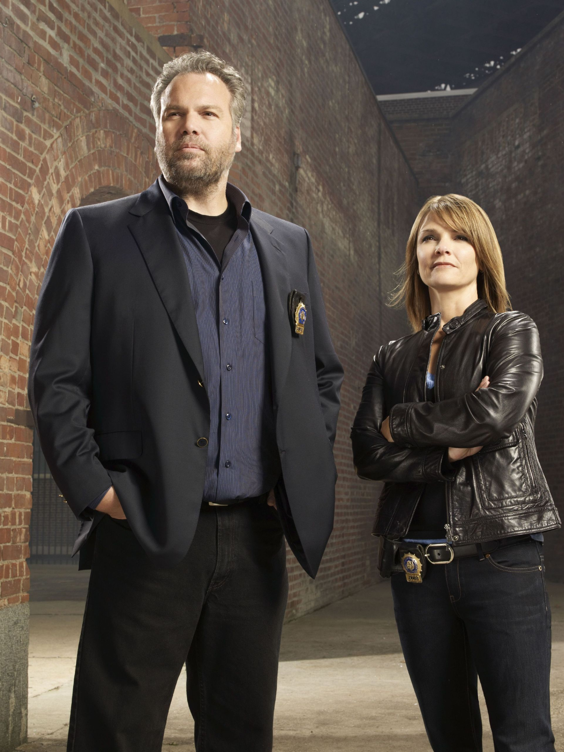 Vincent DOnofrio & Kathryn Erbe.Goren and Eames the best
