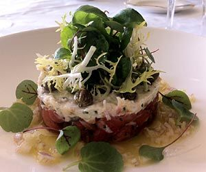 0431f7eb0956 Salmon Tartare with Crab and Caper Mayonnaise - from Bodysgallen Hall and  Spa