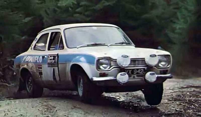 Happy Birthday Roger Clark, an English rallying great.