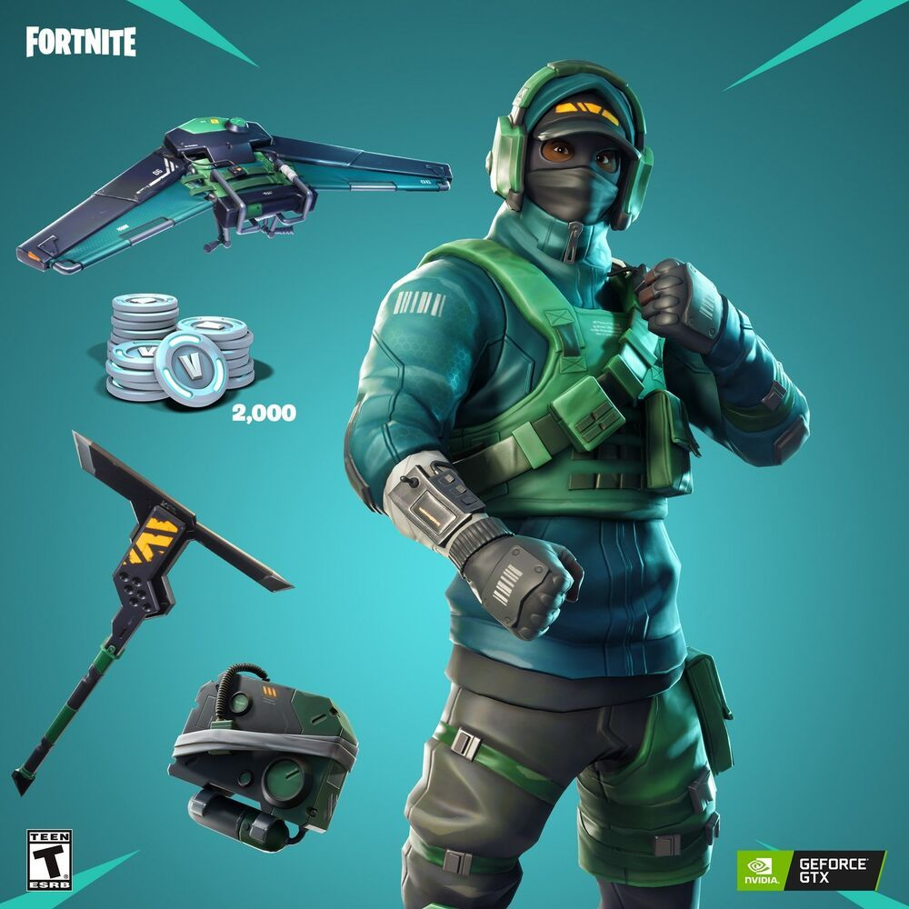 Geforce Gtx Fortnite Bundle Featuring The Counterattack Set