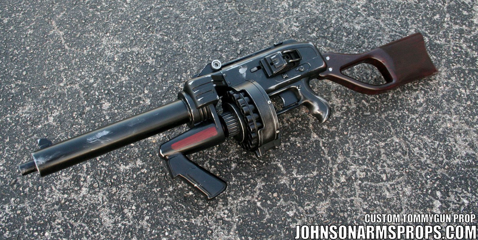 Diesel Punk Style Tommy Gun Prop 2 May 2014