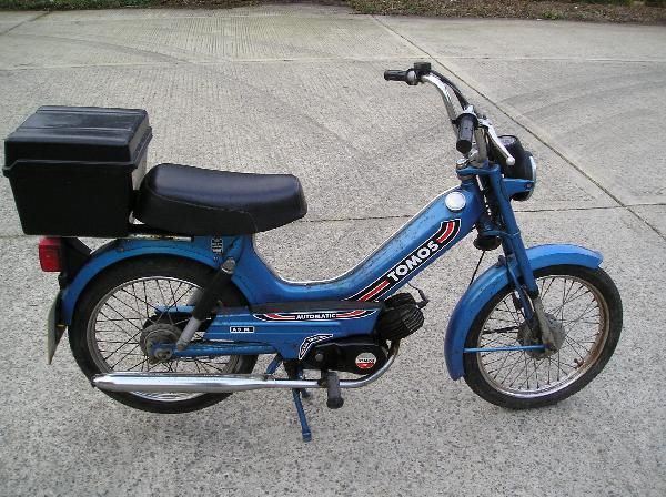 tomos moped | Tomos A3 Moped For Sale on Classic & Race Bike