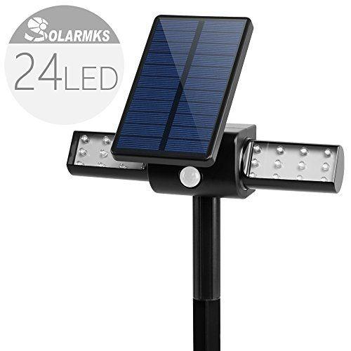 Bright Outdoor Solar Lights Solar Motion Sensor Lights Solarmks 24 Led Bright Outdoor Solar