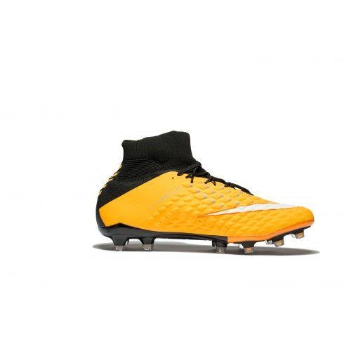 size 40 ef6c9 3fe94 Verkoop 2017 Nike Hypervenom Phantom III DF FG Oranje Zwart Wit  Voetbalschoenen