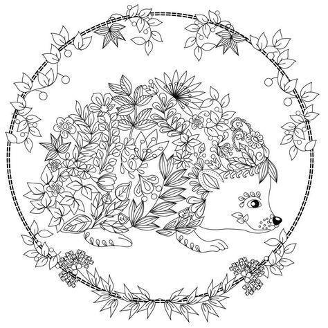 Hedgehog Coloring Page - Art Starts for Kids   474x474