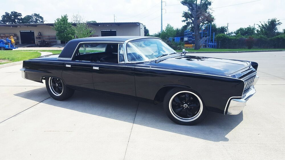 Ebay Advertisement 1966 Chrysler Imperial Crown Black Beauty Big