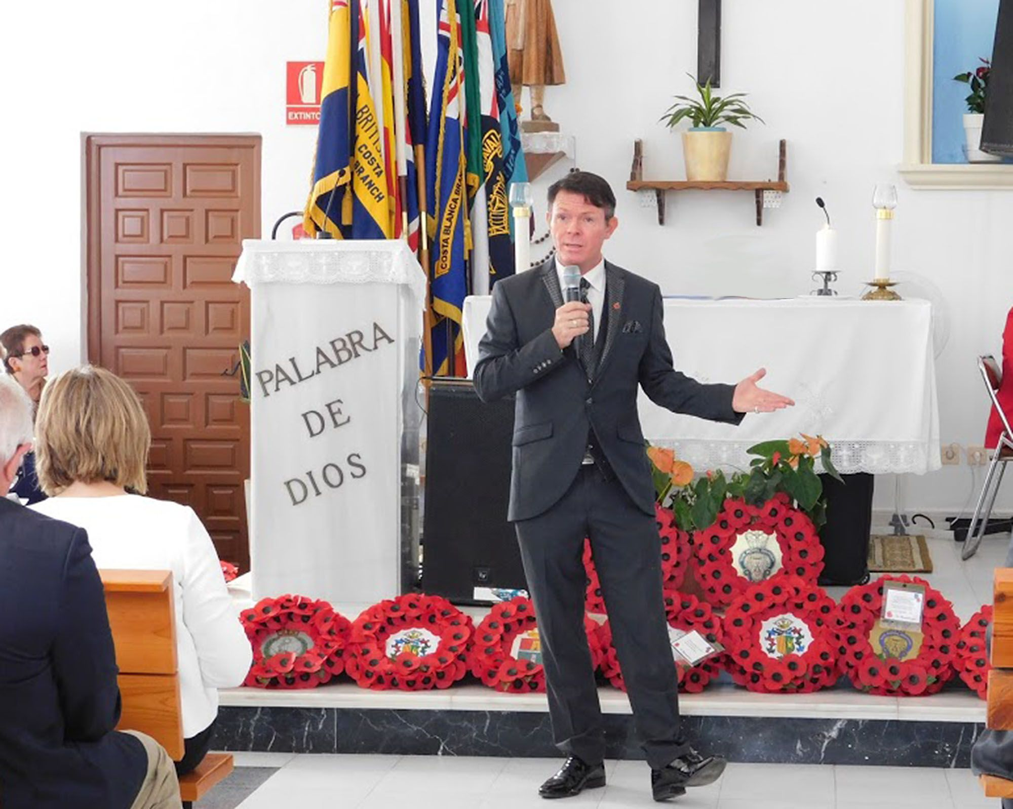 Bem For Stevie Spit In New Years Honours List Remembrance Service Royal British Legion Cancer Support Groups