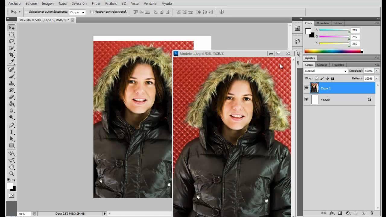 Tutorial Photoshop Cs5 Trabajando Con Capas 1 3 Incoming Call Screenshot Incoming Call