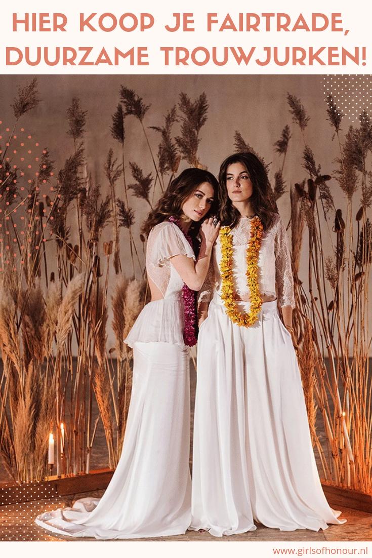 Waar Koop Je Jurk Voor Bruiloft.Nieuw In Nederland Fairtrade Duurzame Trouwjurken Van Nama Nama